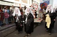 Шествие клики на карнавале, Базель, Швейцария