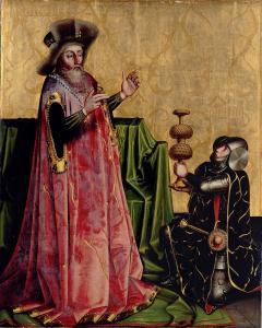 Конрад Виц, Авесса перед царем Давидом
