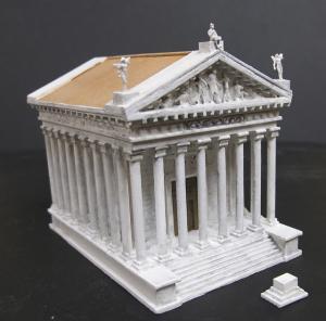 Макет храма Августа, Таррагона, Испания