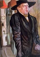 Борис Григорьев, автопортрет (1916)
