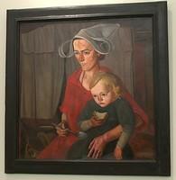 Борис Григорьев, «Бедность», 1925