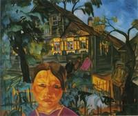Борис Григорьев, «Деревня» (1918)