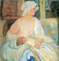 Борис Григорьев, «Мать» (1915)