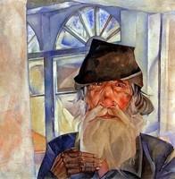 Борис Григорьев, «Олонецкий дед» (1918)