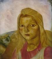 Борис Григорьев, «Степная мадонна» (1919–1920)