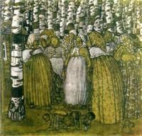 Борис Григорьев, «Маленькие бабы»