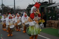 Тамбурмажор на карнавале, Базель, Швейцария
