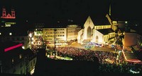 Концерт исполнителей гугенмюзиг, Базель, Швейцария