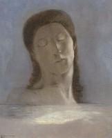 Одилон Редон, Закрытые глаза
