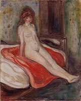 Эдвард Мунк, Девушка на красном платке