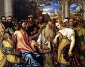Полидоро да Ланчано, Христос и грешница