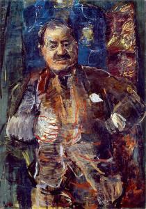 Оскар Кокошка, портрет Марселя Немеша