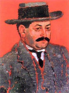 Марсель Немеш, портрет работы Рипль-Ронаи