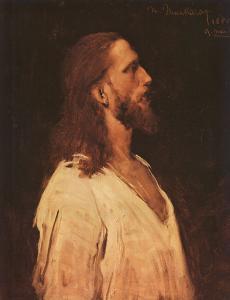 Михай Мункачи, Христос перед Пилатом