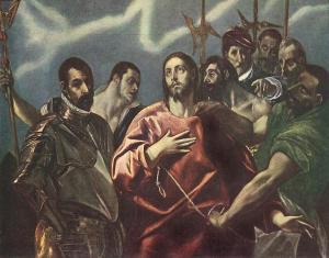 Эль Греко, Снятие одежд с Христа