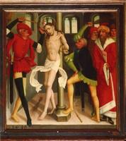 Бичевание Христа, неизвестный швабский мастер, 1496 г.