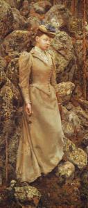 Галлен-Каллела, портрет жены