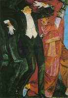 Борис Григорьев, портрет Мейерхольда (1916)