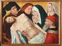Оплакивание Христа, копия с оригинала Хуго ван дер Гуса