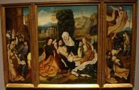 Оплакивание Христа, приписывается мастеру «Поклонения» из собрания фон Грооте