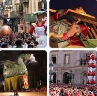 Праздник Мерсе в Барселоне