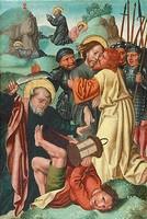 Страсти Христовы, неизвестный художник из региона Верхний Рейн, начало XVI в.