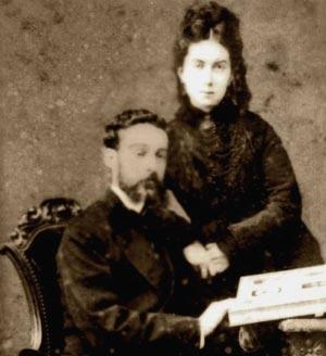 Эусебио Гуэля с супругой [9]