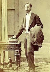 Портрет Эусебио Гуэля, 1882 год