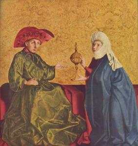 Конрад Виц, Соломон и царица Савская