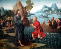 Хождение по водам, приписывается Гансу Леонарду Шейфелейну