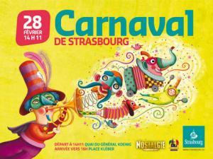 Логотип страсбургого карнавала, 2010