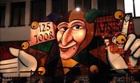 Фонарь клики VKB на карнавале, Базель, Швейцария