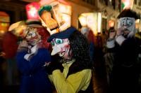 Утреннее шествие на карнавале, Базель, Швейцария