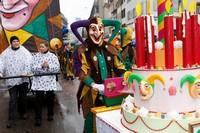 Карнавальная клика на карнавале, Базель, Швейцария