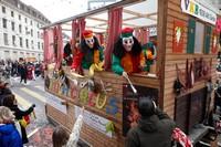 Главное шествие на карнавале, Базель, Швейцария