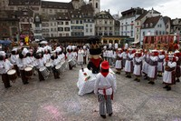 Клика VKB на карнавале, Базель, Швейцария