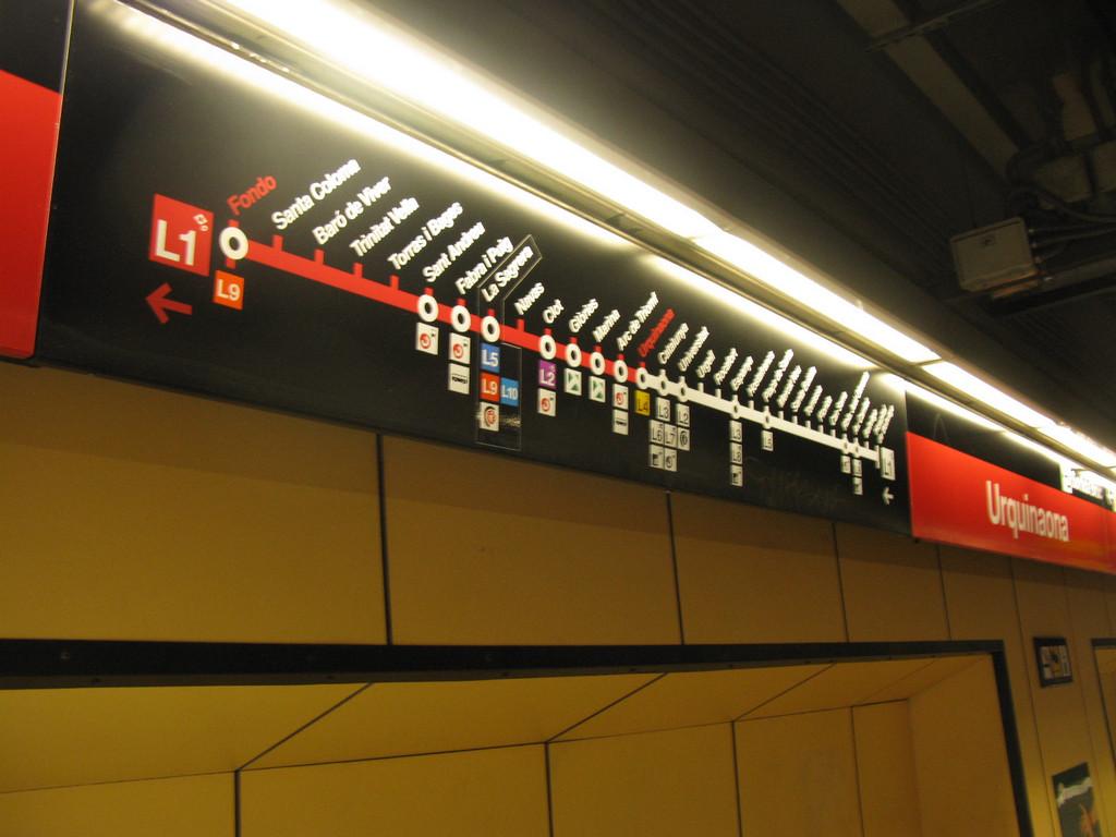 схема движения электропоезда от барселоны costa brava