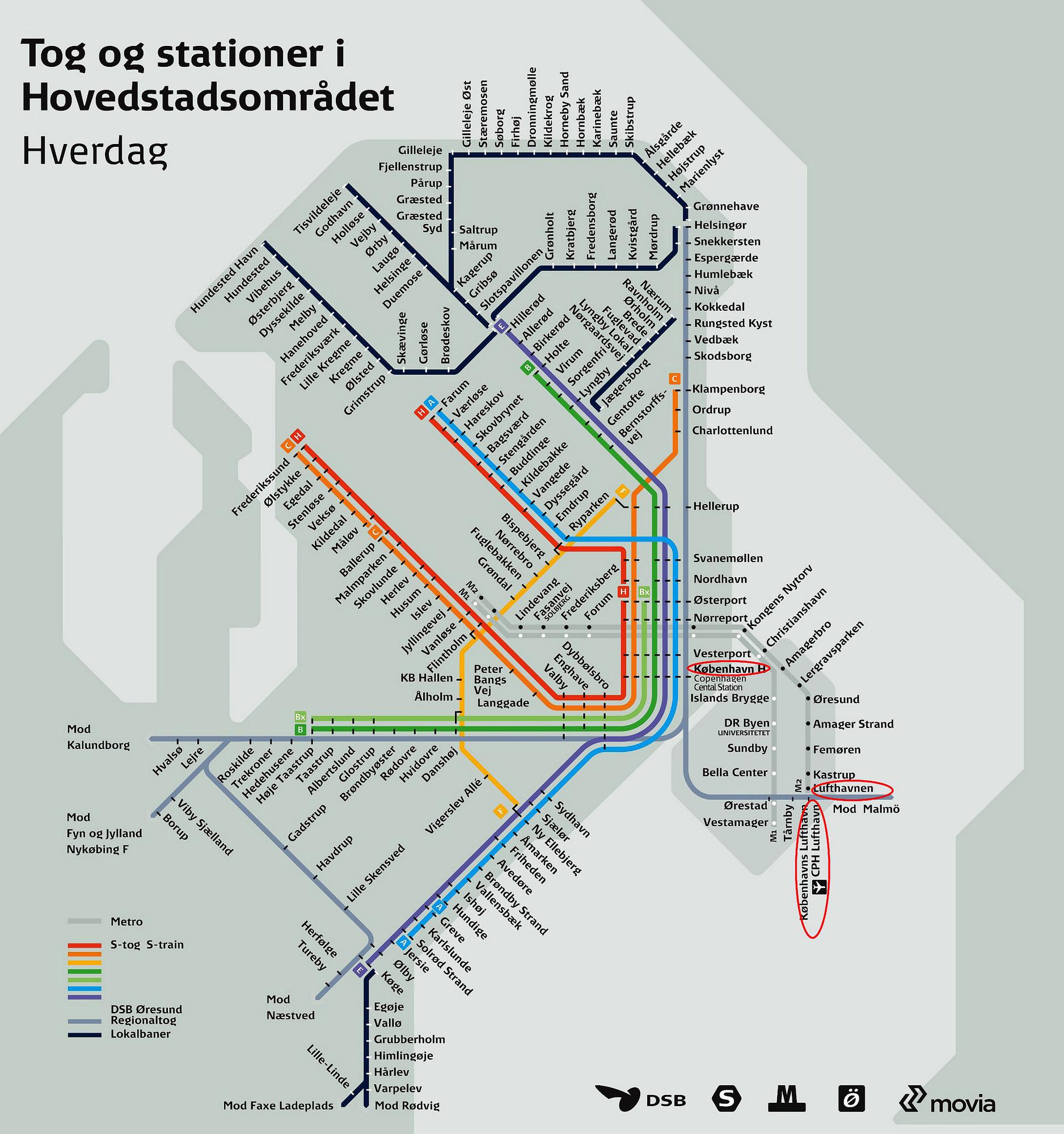 схема метро и ближайшие платформы пригородных поездов