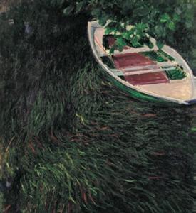 Клод Моне, «Лодка» (1887)