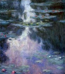 Клод Моне, «Кувшинки» (1907) (Музей изящных искусств Хьюстона)