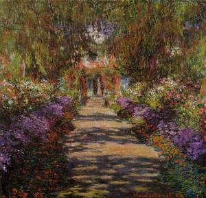 Клод Моне, «Дорожка в саду Живерни» (1902)