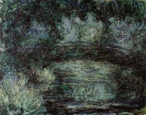 Клод Моне, «Японский мостик» (1918-1924) (Музей Мармоттан)