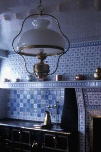 Кухня в доме Клода Моне