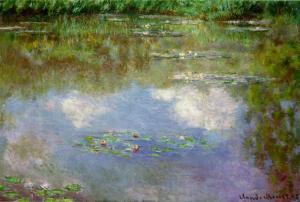 Клод Моне, «Кувшинки. Облака» (1903)