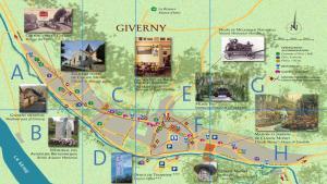 План Живерни, Франция