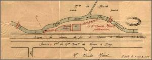 Проект Моне по отведению русла реки и расширению пруда