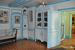 Голубой салон в доме Клода Моне
