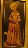 Лукас Кранах Старший, портрет герцогини Катарины Мекленбургской, Дрезденская картинная галерея