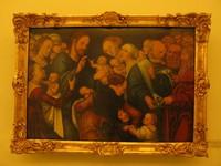Лукас Кранах Старший, «Христос благословляет детей», Дрезденская картинная галерея