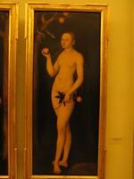 Лукас Кранах Старший, «Ева», Дрезденская картинная галерея